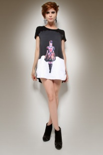 Fashion design (Style and pattern design) For Miss Tees Couture