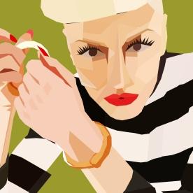 Gwen Stefani photo shoot by Mark Weiss (2005)