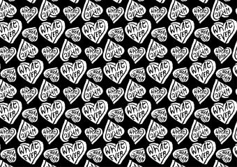 Whatever Heart Pattern-02